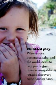 Play-based learning through child-led play