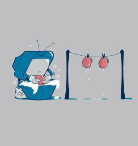 brainwashed by tv